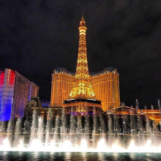 Paris hotel in Vegas